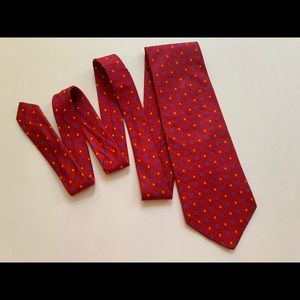 Oscar De La Renta Men's Red Tie